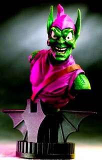 Bowen Green Goblin Marvel Comics Spider man Bust Statue