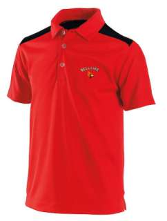 Nike Golf Mens Fit Dry Tech Color Block Core Polo Bellaire Cardinals