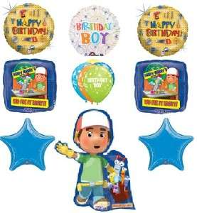 DISNEY HANDY MANNY birthday party supplies balloons new