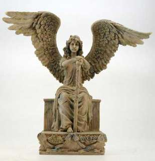 NEU wunderschöner Grabengel Schutzengel Engel Antiklook