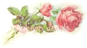 Big~Furniture Size Pink Roses~Decals Stickers or Clings