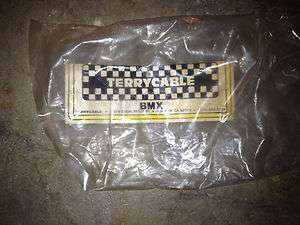 OLD SCHOOL BMX TERRYCABLE BRAKE CABLE PACKAGING VINTAGE RARE!