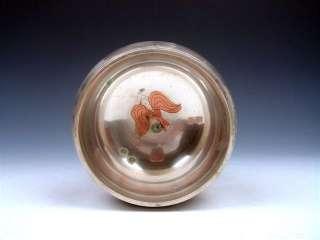 Tibet Copper Craft Gold Gilt Chakra Large Singing Bowl