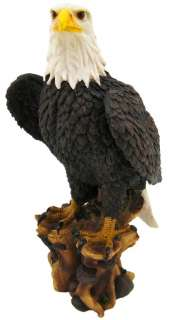 American Pride` Bald Eagle Statue Nature Figure