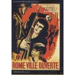 Rom, offene Stadt / Rome, Open City Roma, città aperta Französische