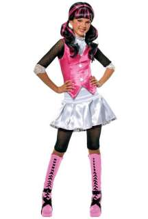 HOT Monster High Draculaura Child Halloween Costume 884787