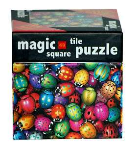 Magic Square Tile Puzzle Lady Bugs Jigsaw Puzzle