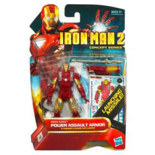 IRON MAN 2 MOVIE CONCEPT SERIES POWER ASSAULT ARMOR