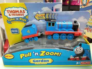 PRICE Thomas & Friends Take N Play PULLN ZOOM GORDON NEW 2012