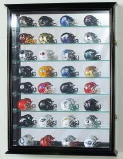 Pocket Pros mini Helmet Display Case Cabinet Holder