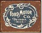 Ford Motor Company accessories FoMoCo Aluminum Sign Garage Man Cave