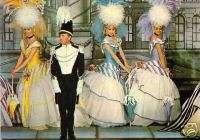 Dancer postcard Folies Bergere women and man (p107)