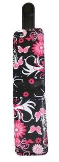 Pink Butterfly Floral PU Leather Flip Case Cover For Apple iPhone 4 4S