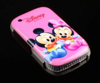 Disney Mickey Mouse Hard Cover Case for Blackberry Curve 8520