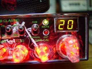 COBRA 29 LTD HARLEY DAVIDSON V TWIN CB RADIO, W/FLAMES, LOUD