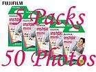 FujiFilm Fuji Instax Mini Film,50 Instant Photos 7s