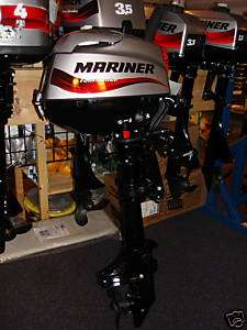 MARINER MERCURY 3.5 hp 4 Stroke Outboard Engine F 3.5hp