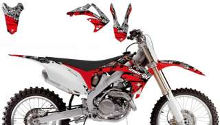 KIT BLACKBIRD GRAFICA ART ENERGY HONDA CRF 450 09/11