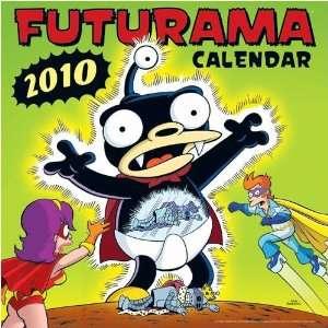 Futurama 2010 Wall Calendar Office Products
