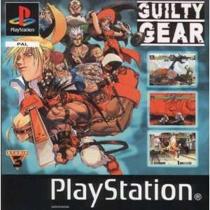 PS1/PS2 Sony Playstation Game Guilty Gear