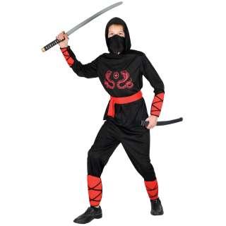 New Ninja Warrior Martial Arts Master Boys Teen Fancy Dress Halloween