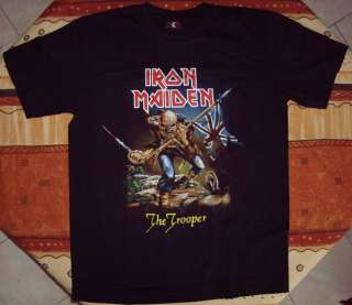 IRON MAIDEN  T SHIRT The Trooper #2 XL   NEUF tee