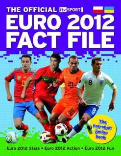 The Official ITV Sport Euro 2012 Fact File Book  Nick Callow NEW PB
