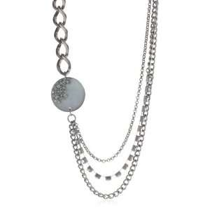 Kenneth Cole New York New York Starry Nights Multi Row Necklace, 19