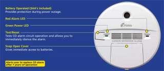 Kidde Carbon Monoxide (KN COB B) and Smoke Alarm (0916