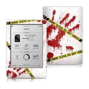 Kobo Touch Skin (High Gloss Finish)   Crime Scene