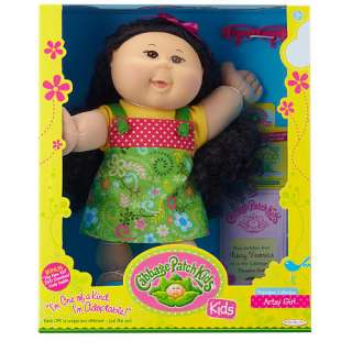 Cabbage Patch Kids Doll   Black Hair   Artsy Girl   Jakks Pacific
