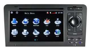 AUTORADIO MONITOR NAVIGATORE GPS AUDI A3 S3 2003 2010 DVBT, DIGITALE