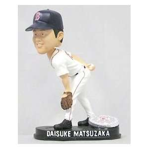 Sox Daisuke Matsuzaka Forever Collectibles Blatinum Bobble Head (Home