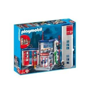 Playmobil Police Headquarters : Toys & Games :