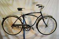 Schwinn Skipper middleweight bicycle bike Black rat rod ready to go