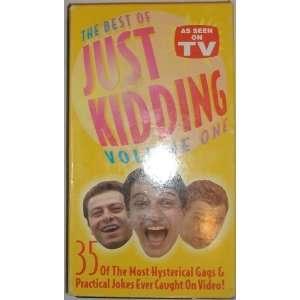 Just Kidding Vol. 1 [VHS] Just Kidding Movies & TV