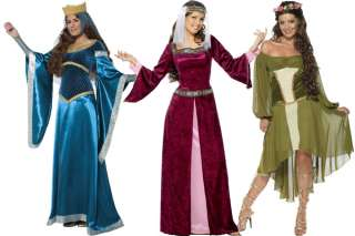 Maid Marion (Robin Hood) Medieval Fancy Dress Costume