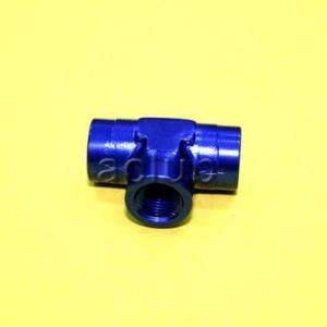 NPT 1/8 Female Tee T Piece Pipe Coupler Adapter