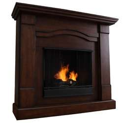 Real Flame Hudson Electric Fireplace in Black   4100E BK