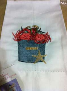 NEW Mary Lake Thomspon Crab Pot Hand/Guest Towel