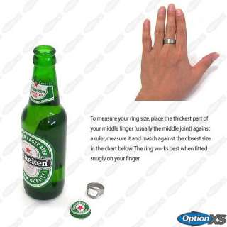 Beer Bottle Opener Finger Ring Bar Accessories Gift New