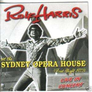 ROLF HARRIS AT THE SYDNEY OPERA HOUSE (CD NEW) jake peg