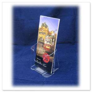 12 X DL Size Flyer /Menu/ Brochure Holder   Single Tier