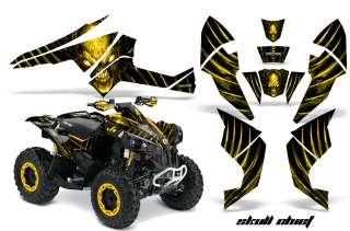 CAN AM RENEGADE 800 GRAPHICS KIT DECALS STICKERS SCYB