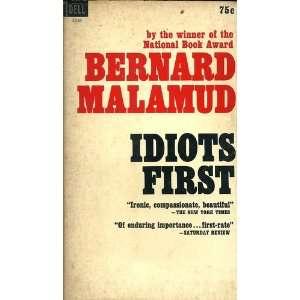 Idiots First Bernard Malamud  Books