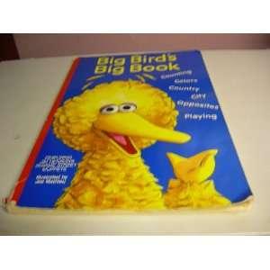 Big Birds Big Book Jim Henson Books