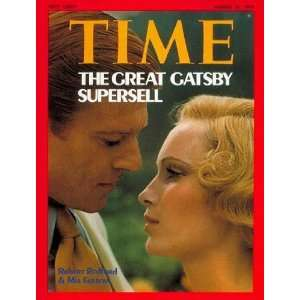 Robert Redford and Mia Farrow by TIME Magazine. Size 8.00