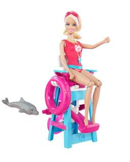 Childrens Barbie Barbie lifeguard doll customer