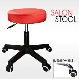 Barber Red Hydraulic Stool Chair Facial Salon Tattoo