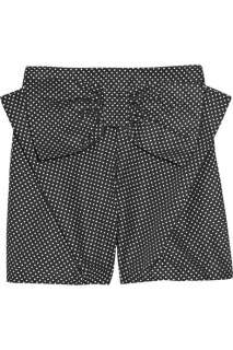 See by Chloé Bow embellished polka dot shorts    Now at THE